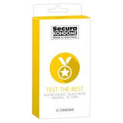 Pack mixto de 12 preservativos más populares de Secura Kondome