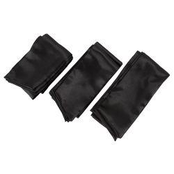 """Set de 5 cintas de raso en negro brillante para juegos bondage """"Bad Kitty"""""""