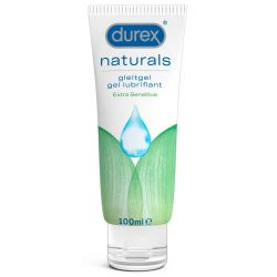Lubricante durex 100 ml a base de agua. Libre de fragancias y colorantes