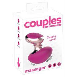 Vibrador masajeador recargable con 10 ritmos.Proporciona placer y relajación