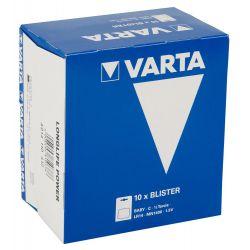 Pack de 10x2 pilas C de la marca varta.Con maxima duración.