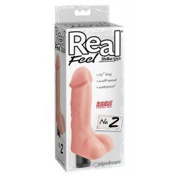 ¡Más realista que la realidad! Vibrador realista 19 cm con glande y venas.