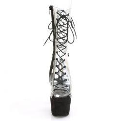 "Sandalias acordonadas estilo botín con caña de vinilo ""ADORE-700-60FS"""