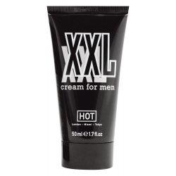 "Crema de masaje para pene 50ml""HOT XXL"" favorece la circulación sanguínea"
