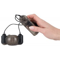 """""""Glans Sleeve""""Funda para glande con puntos estimulantes y control remoto"""