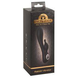 """"""" Cleopatra Rabbit""""Vibrador recargable 19,7 cm con estimulador de clítoris"""