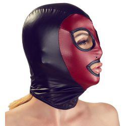 """Máscara elástica con orificios """" Head Mask"""" combinado en 2 colores"""