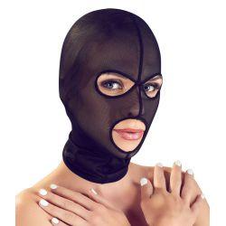 ¡Para él y ella! Máscara elástica hecha de powernet transparente