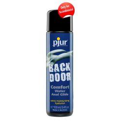 """Backdoor comfort"" Lubricante anal 100 ml a base de agua con hialuronano"