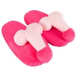 Zapatillas con pene para andar por casa