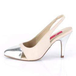 Zapatos estilo salón abiertos en el talón en Tallas Grandes desde T40 a T50