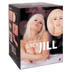 """Muñeca hinchable """"Juicy Jill"""" de tamaño natural y rubia"""