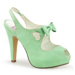 Sandalia Pinup Couture Bettie-03 linea vintage plataforma de polipiel