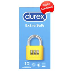 Preservativos Durex 10 unidades extra suaves con lubricante adicional