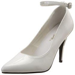 Zapato de barquilla clasica con pulsera en tobillo