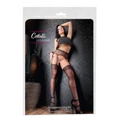 ¡Sexys y Elegantes! Preciosas medias al muslo nylon brillante y sedoso
