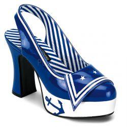 Zapato disfraz marinera plataforma